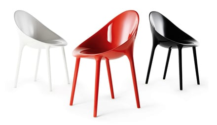 Super impossible kartell poltrona chic blog for Sedie stark