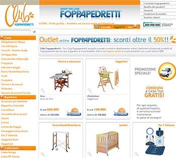 Foppapedretti sconti online for Sconti arredamento casa