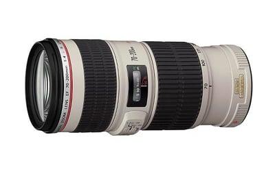 Obiettivo Canon 70-200mm F/4 L IS USM