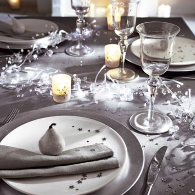 Addobbi di natale e decorazioni natalizie per un 39 atmosfera magica - Addobbi tavola di natale ...