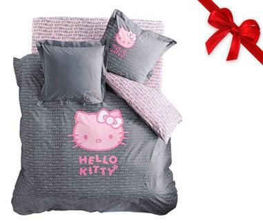 Copriletto Hello Kitty Singolo.Lenzuola E Copripiumone Hello Kitty Topnegozi It