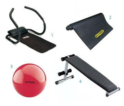 Kit attrezzature addominali