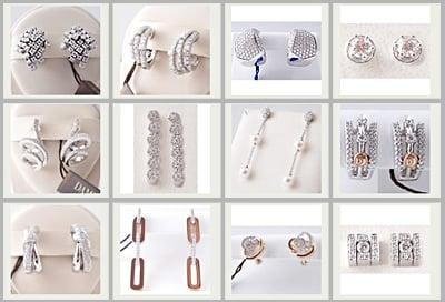 huge selection of 51040 b52b8 Orecchini Damiani con diamanti | Topnegozi.it