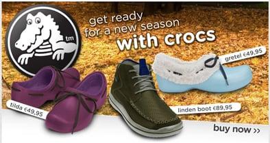Scarpe Crocs inverno