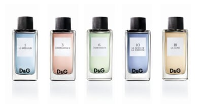 D g fragrance anthology novit for Fragranze francesi