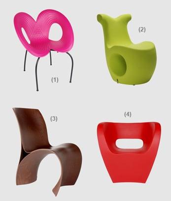 Sedie e poltroncine design moroso for Poltrone moroso prezzi