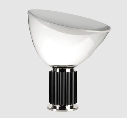 Lampada da tavolo taccia di flos disegnata da achille for Lampade castiglioni