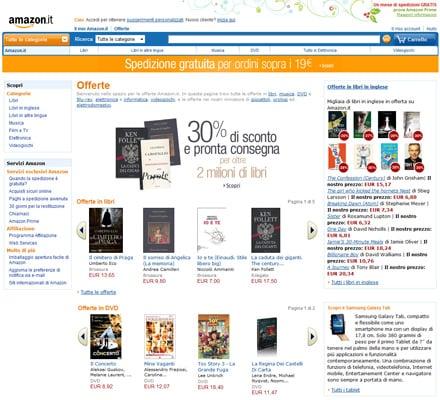 Amazon Portale web