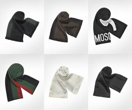 prezzo limitato forma elegante alta moda Sciarpe firmate Emporio Armani, Fendi, Missoni, Mila Shon ...