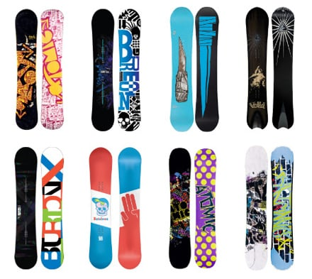 Tavole snowboard freestyle e freeride - Costruire tavola da snowboard ...