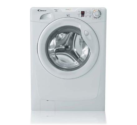 lavatrice candy go 108 df con display per controllare le fasi di