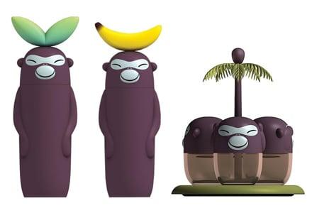 Alessi Banana Family la collezione di scimmiette per la cucina ...