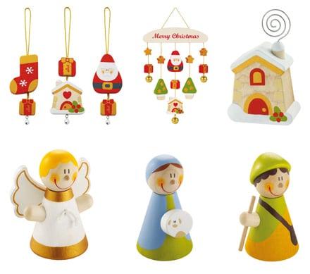 Decorazioni natalizie in legno di sevi - Decorazioni in legno per natale ...
