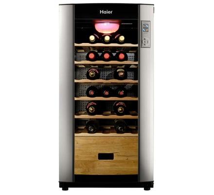 Haier jc 110gd la cantinetta vino con cassetto porta - Porta vino ikea ...