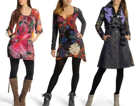 wholesale dealer 3bd5f 9db41 Abbigliamento moda Desigual, la moda diventa colorata e ...