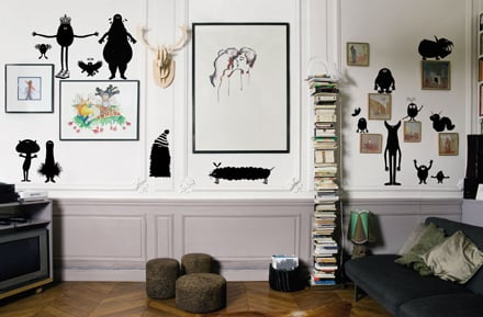 Adesivi da parete arreda la tua casa con domestic - Adesivi da parete per cucina ...