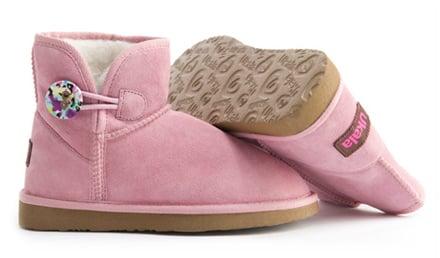 scarpe imbottite