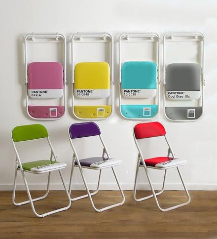 Pantone Chairs di Seletti la sedia pieghevole colorata | Topnegozi.it