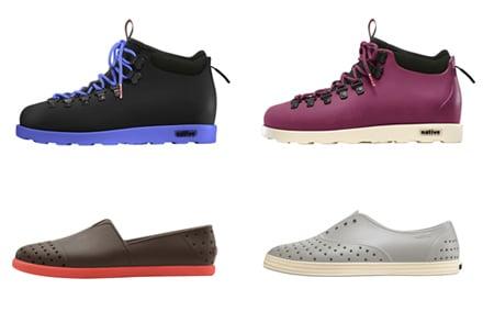new product b7ca0 631ce Scarpe in gomma Native, le calzature casual-chic | Topnegozi.it