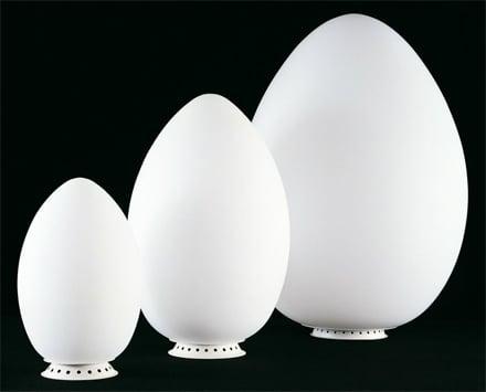 Lampada da tavolo uovo di fontana arte un 39 icona di stile for Lampada uovo fontana arte