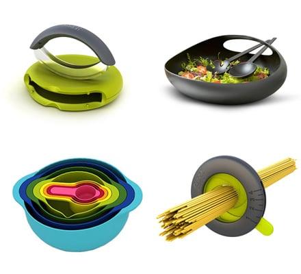 Joseph joseph utensili per la cucina pratici e vivaci for Utensili da cucina di design