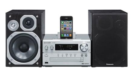 Panasonic sc pmx5 impianto micro cd con dock - Impianto radio casa ...