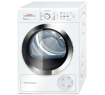 Bosch wty86860it asciugatrice in classe a da 8 kg for Asciugatrice consumi