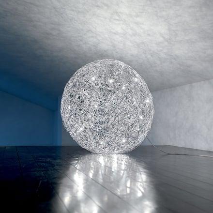 Catellani smith fil de fer sfere luminose in filo d - Sfere illuminazione giardino ...