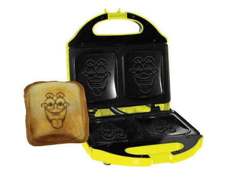 tostiera princess sandwich maker spongebob allegria anche negli snack. Black Bedroom Furniture Sets. Home Design Ideas