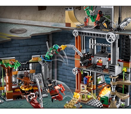 Lego teenage mutant ninja turtles una nuova linea di for Lago tartarughe