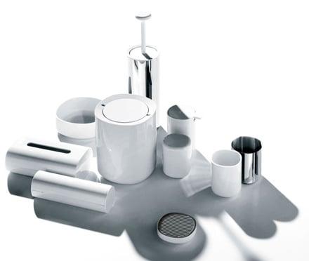la collezione di accessori per il bagno