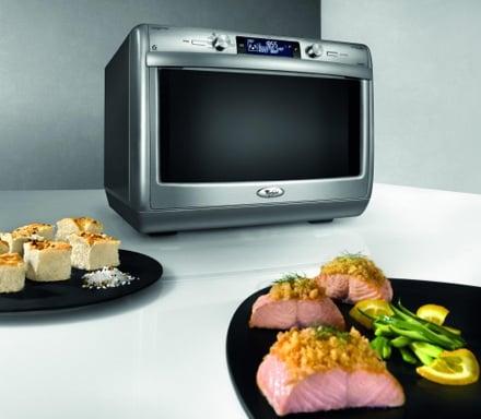 Whirlpool jt 379 microonde multifunzione con assisted chef - Cucinare con microonde whirlpool ...