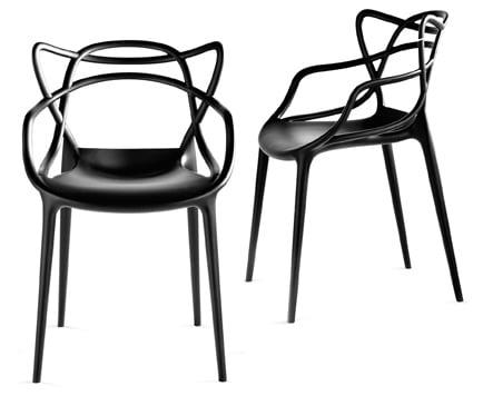 Master di kartell la sedia di design comoda e versatile for La sedia nel design