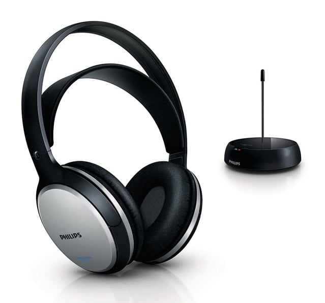 philips shc5100 cuffie fm wireless per tv e hi fi. Black Bedroom Furniture Sets. Home Design Ideas