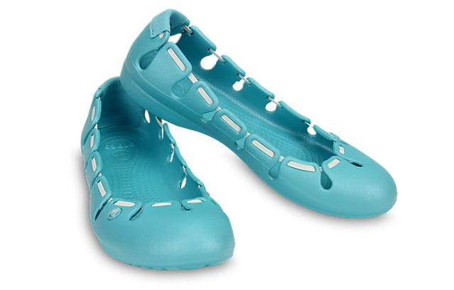 Crocs Springi Flat azzurre