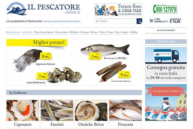 Il Pescatore Online  - ecommerce