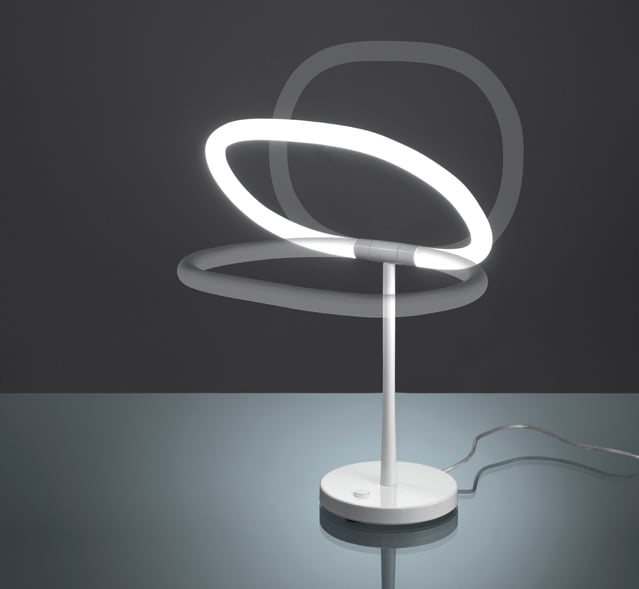 Lampada da tavolo Halo di Artemide: un minimale anello luminoso  TopNegozi.it Blog