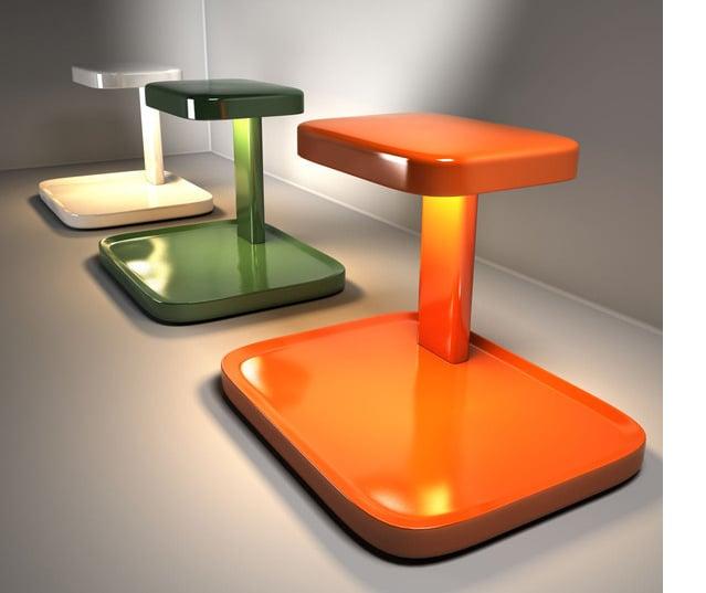 Piani di flos lampada da tavolo a led e svuotatasche for Piani di luce biliardo