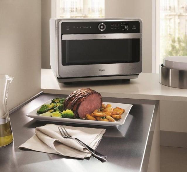 Microonde whirlpool jet chef premium jt 479 ricette - Forno tradizionale e microonde insieme ...