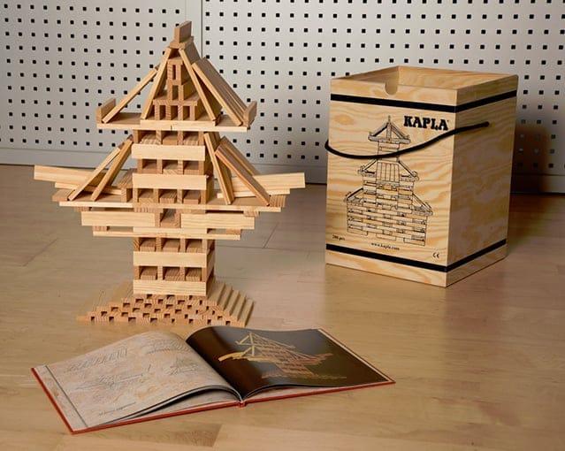 Kapla un gioco educativo di costruzioni per grandi e for Costruire uno scuro in legno