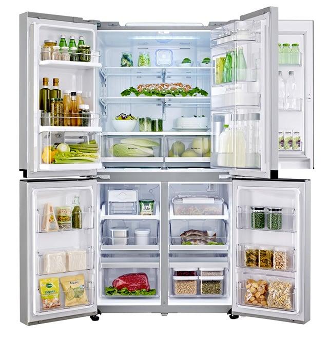 Lg gmm916nshv frigorifero side by side a 5 porte for Frigorifero silenzioso