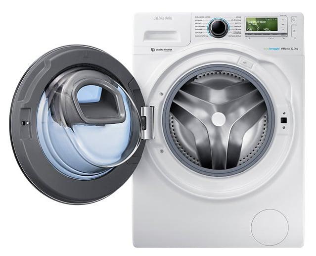 samsung addwash lavatrice con doppio oblo 39 aggiungi cio 39 che vuoi durante il lavaggio. Black Bedroom Furniture Sets. Home Design Ideas