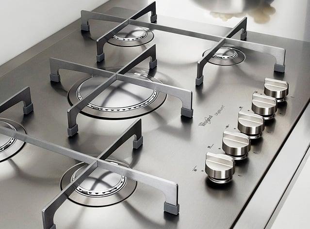 Piano cottura Whirlpool AKT 799/IXL, design e bellezza garantite ...