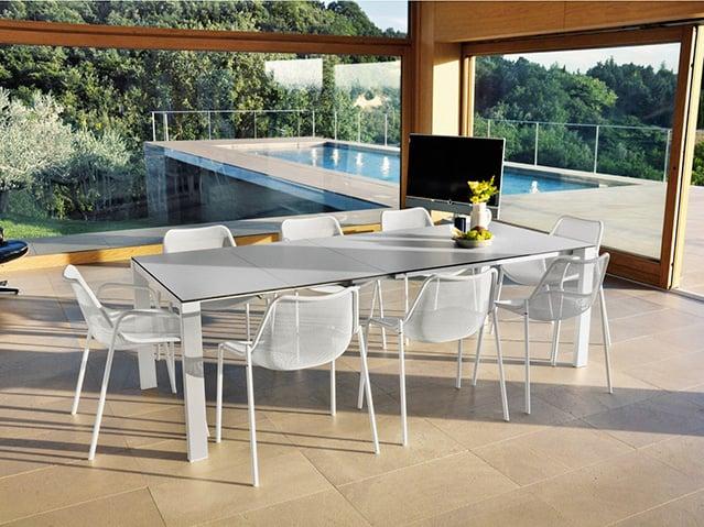 Emu arredo giardino di design for Tavolo ferro esterno