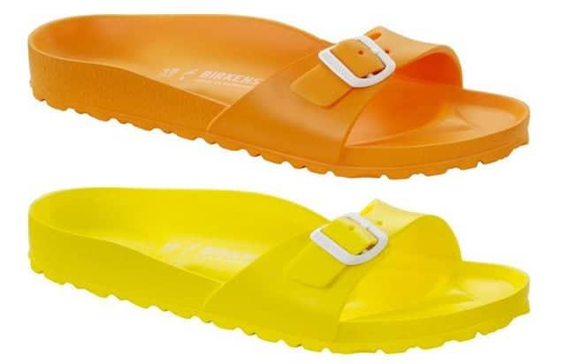Birkenstock Madrid Eva - arancione e giallo