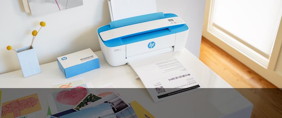 HP DeskJet 3720, la più piccola stampante ink-jet all-in-one per gli utenti social