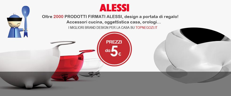 Alessi - Piu di 1.900 prodotti firmati Alessi, il design a portata di regalo