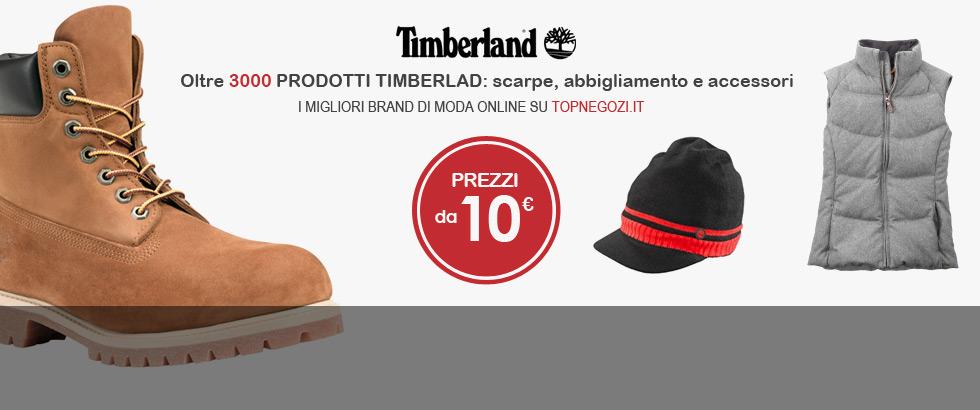 Timberland, oltre 3000 prodotti: scarpe, abbigliamento e accessori per uomo, donna e bambini