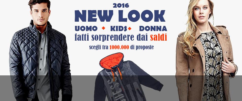 NEW LOOK - Inverno 2016 uomo, donna e bambini