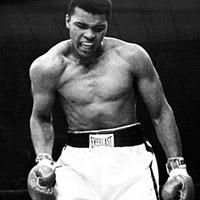 Muhammad Ali, il mito del pugilato! Film, libri e poster